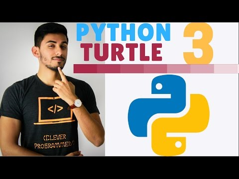 Learn Python Programming - 3 - The Turtle