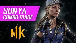 Sonya Blade Combo Guide (Tournament/Ranked) – Mortal Kombat 11