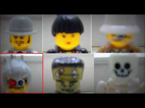 Лего-презентация и конкурс на главную роль (Лего Охотники на монстров\LEGO Monster Fighters)
