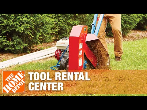 The Home Depot Tool Rental Center- Trenchers - YouTube