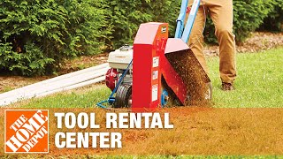 The Home Depot Tool Rental Center- Trenchers