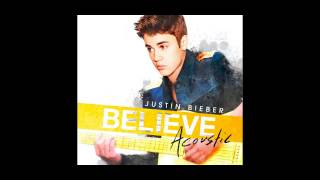 Justin Bieber - Boyfriend (Acoustic Version) 2013 OFFICIAL