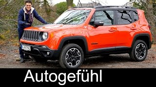 All-new Jeep Renegade FULL REVIEW test driven 2016 neuer SUV - Autogefühl