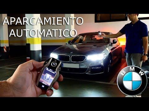 BMW Asistente de aparcamiento remoto 2017