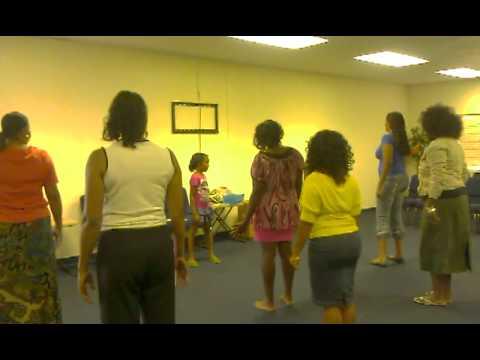 Praise dancing...