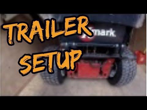2016 Trailer setup and Maintenance