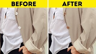 20 Amazing Tricks to Make Your Clothes Look More Expensive