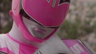 Power Rangers Time Force - Pink Ranger vs Fatcatfish | Jen