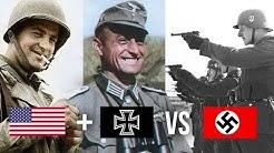 USA + Allemands VS Nazis : Bataille la plus étrange de la 2nd Guerre mondiale - HDG #13