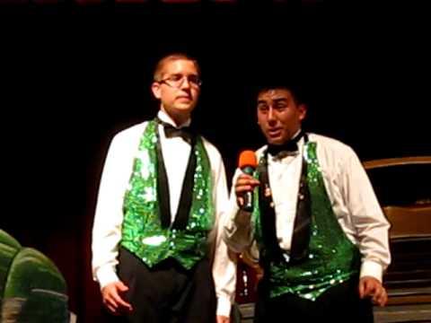 Jose and Daniel singing Kokomo! =]