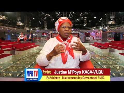 RDC-Sommet de Luanda-Justine Kasa-Vubu:La Libération du Congo viendra par les Congolais eux memes