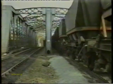 Liverpool Freight Trains on VHS in 1990s