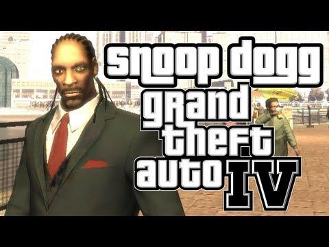 Snoop Dogg Plays GTA IV? (Carmageddon Mod)