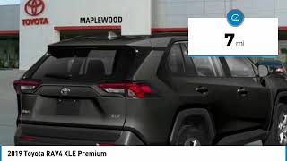 2019 Toyota RAV4 XLE Premium Maplewood, St Paul, Minneapolis, Brooklyn Park, MN K12951