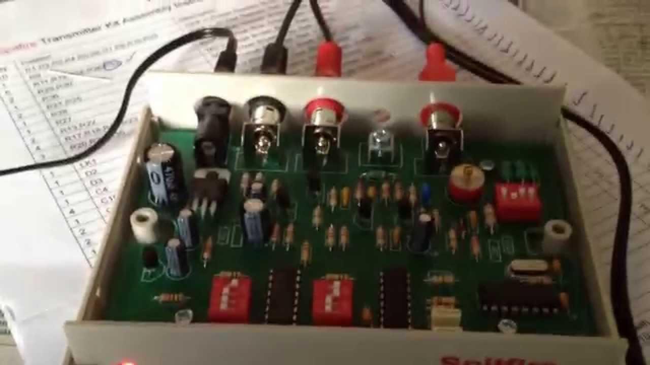 Spitfire Am Transmitter Kit Youtube Mw Circuit