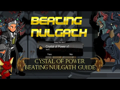 AQW Crystal Of Power Guide! | How To Beat Nulgath Everytime!