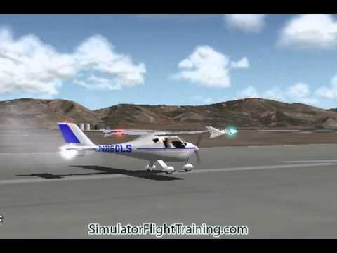 Flight Design CTLS CT LSA light-sport airplane X-Plane Aircraft flight  simulator program
