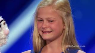 Video Bagishared Darci Lynne 12 Year Old Singing Ventriloquist Gets Golden Buzzer   Americas Got Talent 20 download MP3, 3GP, MP4, WEBM, AVI, FLV Mei 2018