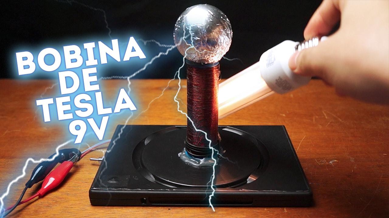 Circuito Bobina De Tesla : Como fazer uma bobina de tesla v fácil youtube