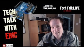 Tech Talk Live Dec/15/14- Arduino, Satellites, Electronics & Imp Chat
