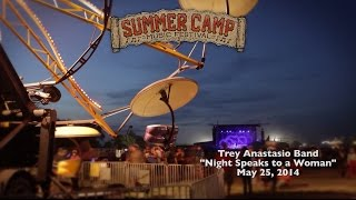 "SUMMER CAMP SESSIONS: Trey Anastasio Band performing ""Night Speaks to a Woman"" at Summer Camp 2014"