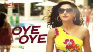 Oye song from azhar sing by: aditi singh sharma and armaan malik visit here for lyrics: http://lyricsion.com/lyrics/oye-oye/