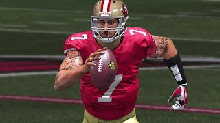 LONGEST QUARTERBACK RUN OF THE YEAR! Kaep is Too Nice! - Madden 15 Ultimate Team Gameplay