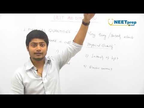 #1   Basic Concepts & Examples   Units & Dimensions   Vivek Pandey NEET AIIMS NEET AIIMS