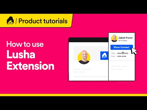 How to Find Email & Phone Numbers from LinkedIn with Lusha Extension