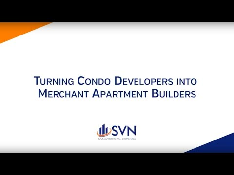 Turn Condo Developers Into Merchant Apartment Builders
