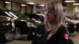 Brianne Tutt Speed Skater | Road to Sochi Winter Olympics | Davis Automotive Group