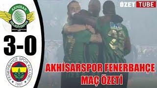 Akhisarspor 3-0 Fenerbahçe Maç Özeti 09.12.2018