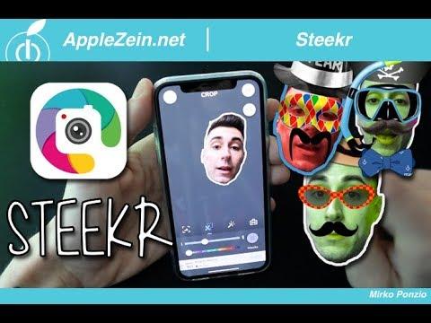 Steekr, crea FANTASTICI stickers animati per il tuo iPhone
