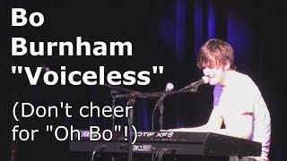 """Video Bo Burnham """"Voiceless"""": Don't Cheer For 'Oh Bo'! download MP3, 3GP, MP4, WEBM, AVI, FLV Agustus 2018"""