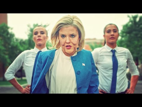 DONALD TRUMP VS HILLARY CLINTON DANCE BATTLE! - How the election should have happened! // @ScottDW