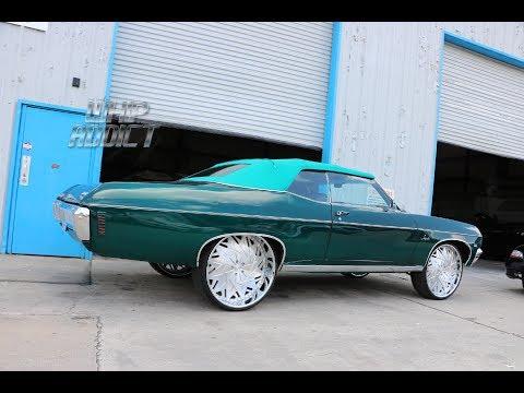 WhipAddict: College Park Customs Shop Visit, 3 LS Malibu's, 70' Impala Vert, Caprice Landau