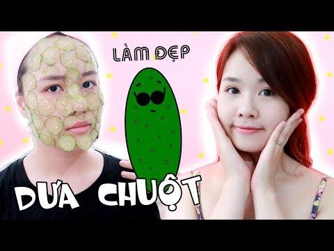 MẸO TRỊ MỤN CẤP TỐC VỚI DƯA LEO - Cucumber Beauty Hacks | Ngọc Bube