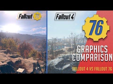 Graphics Comparison - Fallout 4 vs Fallout 76 | Fallout 76 thumbnail