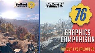 NEW Graphics Comparison! - Fallout 4 vs Fallout 76 | Fallout 76