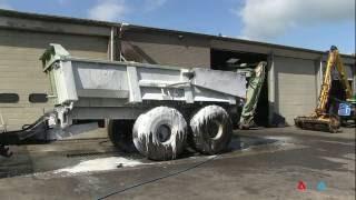 CALPA - Reiniging tractor combinatie