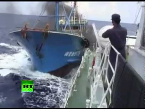 Leaked China-Japan boat crash video sparks row, protests