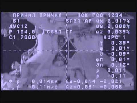 ISS Progress 47 Re-docks to Space Station