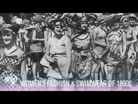 1890s Fashion Footage
