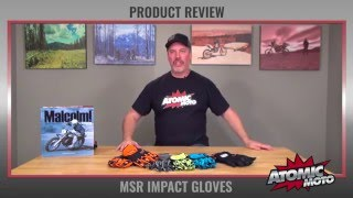 MSR Impact Gloves Review by Atomic-Moto