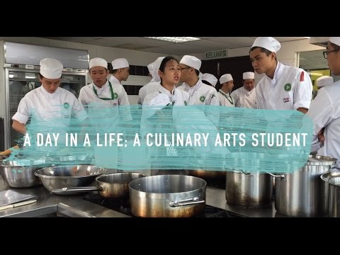 a day in a life l a culinary arts student