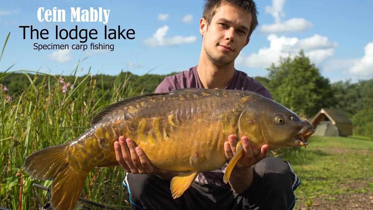 Cefn mably specimen carp fishing 39 the lodge lake 39 youtube for Fishing report near me
