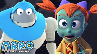 Arpo the Robot | Zombie Potty Time | Best Moments | Funny Cartoons for Kids | Arpo and Daniel