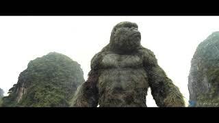 Конг против гигантского кальмара — «Конг- Остров черепа» (2017) сцена 3-8