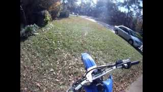 How to use a Dirtbike with a Clutch