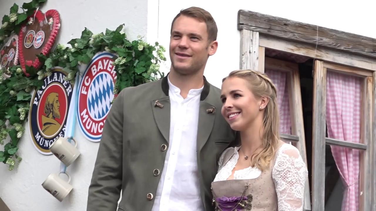 FC Bayern Spieler Oktoberfest 2018 @ Käfer-Schänke am 07.10.2018 ...